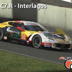 RFactor 2 - Corvette C7.R - Interlagos