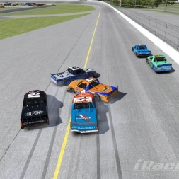 Nascar Pickup Cup Rookie Carnage Daytona International Speedway