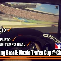 iRacing Brasil - Trofeo Mazda Cup S1 2016 - Corrida 2 (Charlotte Road)
