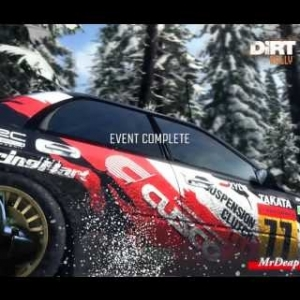 DiRT Rally Sweden Skogsrallyt Subaru Impreza 2001 g25 wheel 60fps