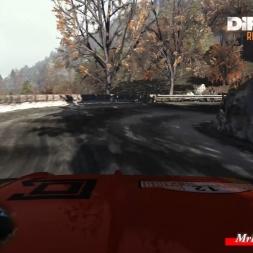 DiRT Rally Monte Carlo Pra d'Alart Abarth 131 wheel cam g25 60fps
