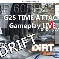 DiRT Rally Monte Carlo Monaco  Route de Turini Descente Ford Focus RS 2001 Part 2 TA G25