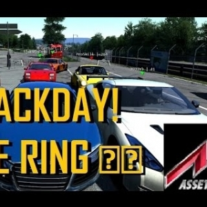 TRACK DAY! | The NURBURGRING in Assetto Corsa MULTIPLAYER!!
