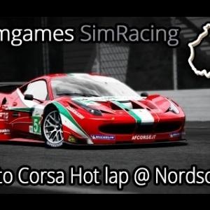 F1Simgames Assetto Corsa Ferrari 458 GT2 @ Nordschleife