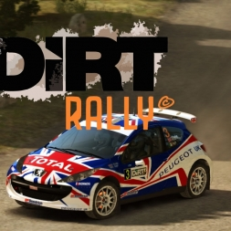Dirt Rally - Peugeot 207 S2000 in Germany