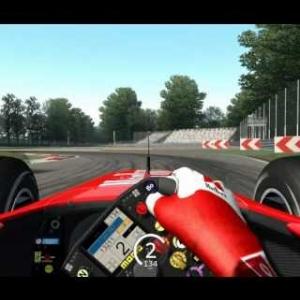 Assetto Corsa - Ferrari F2002 @ Monza ♦ 1:20.053