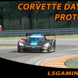 Assetto Corsa - Corvette Daytona Prototype @ Spa