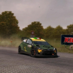 Dirt Rally Ford Fiesta RS @Kreuzungsring reverse top 25 Replay+On Board