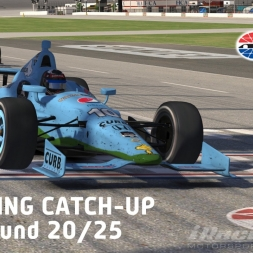 """iRacing: Playing Catch-up"" (IndyCar Winter Series Round 20: Texas Motor Speedway)"