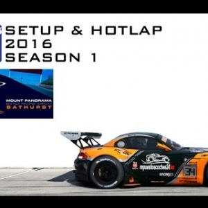 iRacing BMW Z4 GT3 @ Mount Panorama | Setup & Hotlap 2'04.149 | Season 1 - 2016