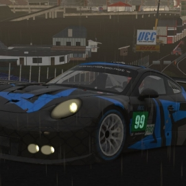 VEC SPA 2016 Porsche GTE - rFactor 2 Quali