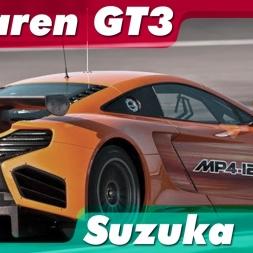 R3E - McLaren mp4 12c GT3 - Suzuka