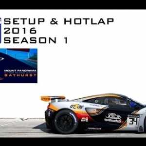 iRacing Mclaren MP4-12C GT3 @ Mount Panorama | Setup & Hotlap 2'03.671 | Season 1 - 2016