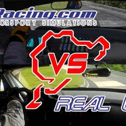 iRacing Vs Real Life | BMW Z4 GT3 @ Nurburgring Nordschleife