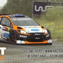 DiRT Rally - Custom Livery M-Sport Kevin Abbring