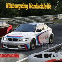 Project CARS KI Race [HD] BMW 1M Stanceworks @ Nordschleife with Rain