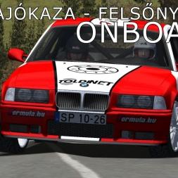 rallyFactor MARB 2015 | Borsod Rally | SS4 Sajókaza | Balazs Toldi OnBoard