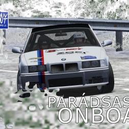 rallyFactor | IV.Karácsony Rallysprint | SS4 | Balazs Toldi OnBoard