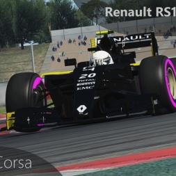 Assetto Corsa F1 2016 Magnussen Onboard Barcelona