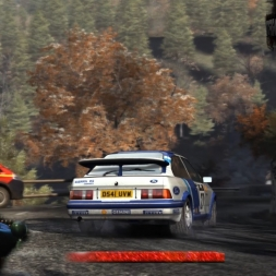 DiRT Rally Monte Carlo Col de Turini Descente Ford Escort Cosworth RS500 G25 wheel cam
