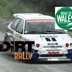 Dirt Rally - Wales - Ford Escort Cosworth