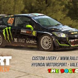 DiRT Rally - Hyundai Motorsport Valentino Rossi