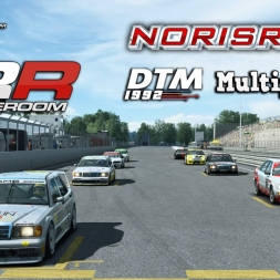 RaceRoom Racing   Multiplayer   DTM 1992 @ Norisring