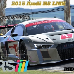 Project CARS Gameplay [HD] Audi R8 LMS [MDMT MOD] @Bathurst mit Wheelcam [POV]