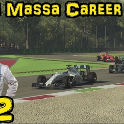 F1 2015 - Felipe Massa Career Mode - Ep 12: Italy