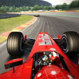 F2002 Mod at Spa (Assetto Corsa)