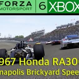 Forza 6 - 1967 Honda RA300 -  Indianapolis USA