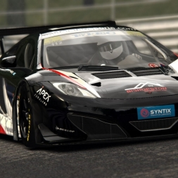 Project CARS vs real life: McLaren MP4-12C GT3 @ Spa
