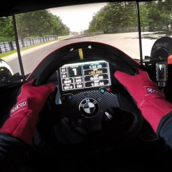 rFactor 2 - McLaren Mp4-6 @ Rouen Les Essarts - Onboard Triple Screen