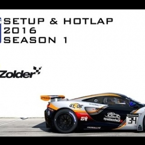 iRacing Mclaren MP4-12C GT3 @ Zolder | Setup & Hotlap 1'28.907 | Season 1 - 2016