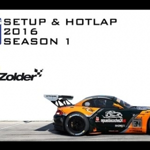 iRacing BMW Z4 GT3 @ Zolder | Setup & Hotlap 1'29.358 | Season 1 - 2016