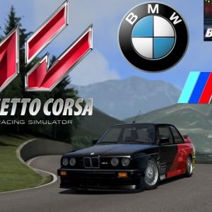 Assetto Corsa :: BMW M3 E30 Step1 @ Trento Bondone :: FULL ON BOARD