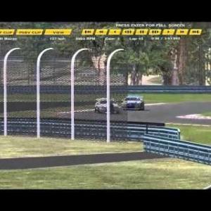 EEC Online V8 Supercars R2 - My race @ Watkins Glen