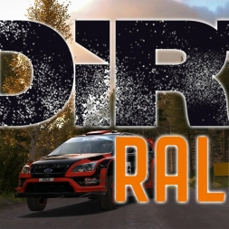 DiRT Rally - Finland Gameplay -  Huge JUMPS, Perfect Run (EP1)