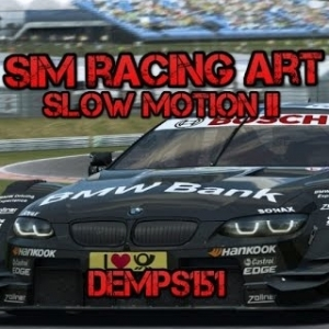 The Art Of Sim Racing : Slow Motion 2