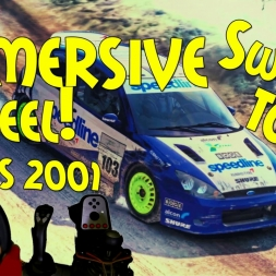 Dirt Rally Immersive Wheel - DIY G27 Sequential Shifter Mod! Top 36 Focus RS 2001 Stor-Jangen Sprint