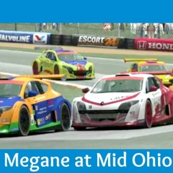 rFactor 2 - Renault Megane Trophy at Mid Ohio