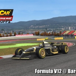 Formula V12 @ Barcelona 2003 Helmet Effect - Stock Car Extreme 60FPS