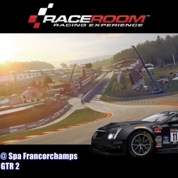 Cadillac CTS V-R @ Spa Francorchamps - GTR 2 - RaceRoom Racing Experience 60FPS
