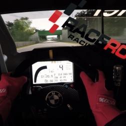 Raceroom - Chevrolet Cruze WTCC @ Zolder - Onboard Triple Screen