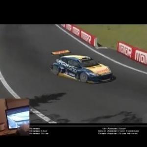 rFactor 2 - Bathurst - Renault Megane Trophy v1.02 - Hotlap (Wheelcam)