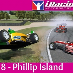 iRacing AOR Pro Mazda Championship Round 8: Phillip Island