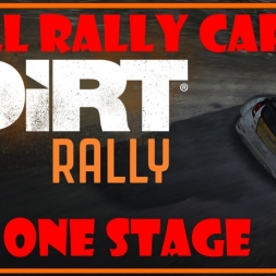 All Cars One Stage - Dirt Rally