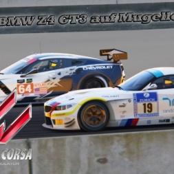 Assetto Corsa BMW Z4 GT3 Mugello [Tight Race]