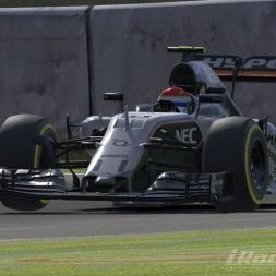 iRacing F1 at Suzuka: Race 2 Reverse Grid