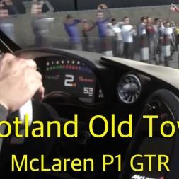 DriveClub™ - McLaren P1 GTR - Scotland Old Town